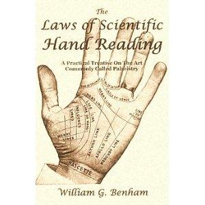 william benham palmistry book