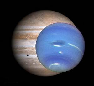 Jupiter and Neptune come close to earth