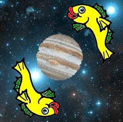 Jupiter re-enters Pisces on December 4th