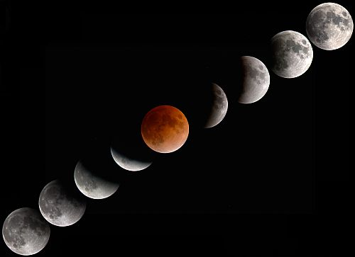 Lunar Eclipse on 25 April 2013, Effects
