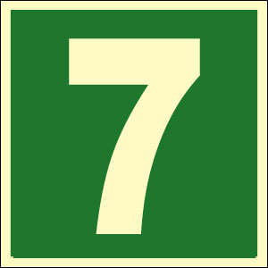 Predictions for birth number 7 and fadic number 7