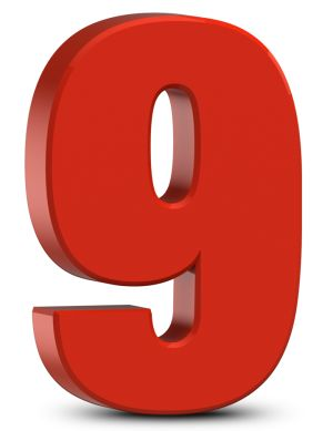Predictions for birth number 5 and fadic number 9