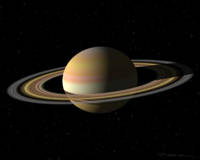 Saturn turns direct in Virgo on 13th June 2011