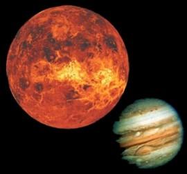 Venus becomes more beneficial planet than Jupiter