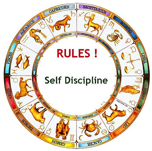 Following Rules and Self Discipline of Zodiac Moon Signs