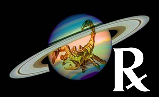 Saturn Retrograde in Scorpio 2016 March-August, Effects