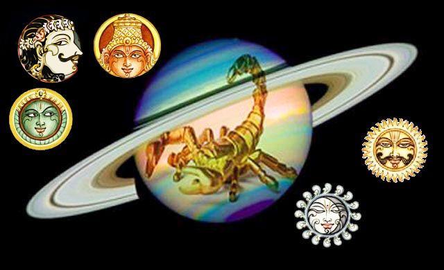 Five planets influence Taurus & Scorpio in June 2016