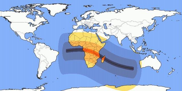 Annular Solar Eclipse 1 September 2016, Effects