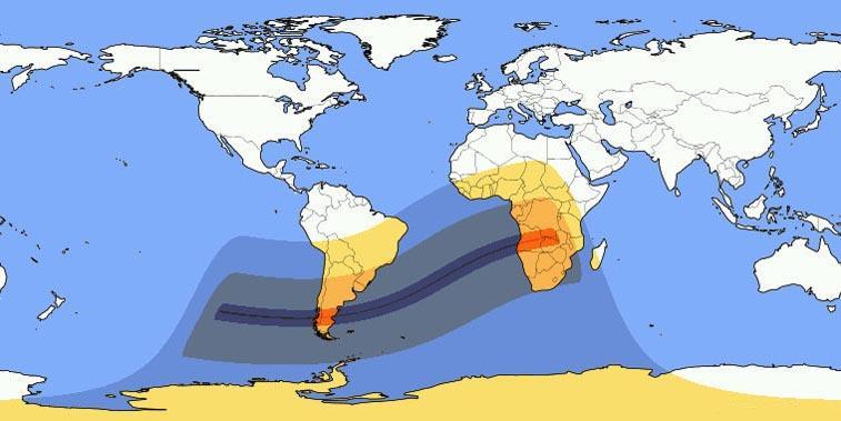 Annular Solar Eclipse February Effects Astrology - 26 feb