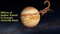 Jupiter transit in SCORPIO (Vrischik Rasi) 2018-19, Effects