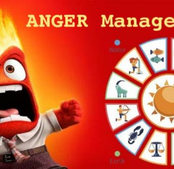 Anger Management of each Zodiac Moon Sign