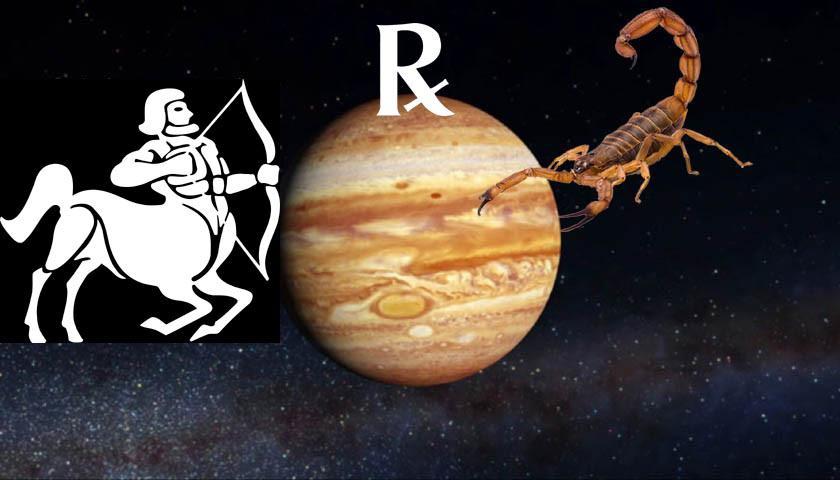 Jupiter Retrograde in Sagittarius-Scorpio April-August 2019