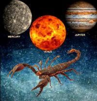 Jupiter Venus Conjunction 2019 with Mercury in Scorpio-Sagittarius, Effects