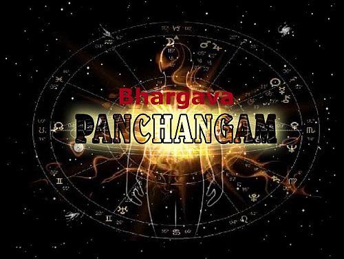 Bhargava Panchangam