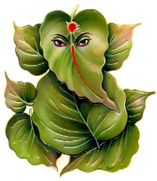 ganesh chaturthi 21 leaves pooja