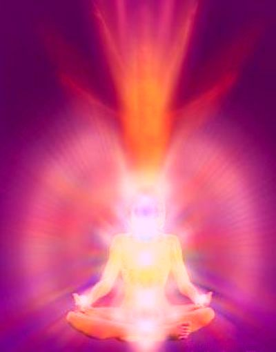 Aura energy around a body