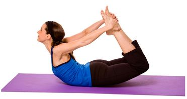 dhanurasana bow pose benefits  yoga
