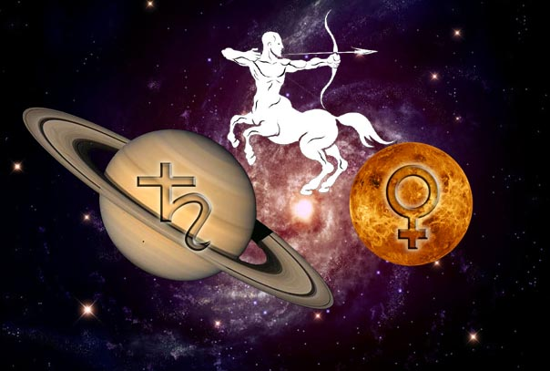 Saturn Venus Conjunction in Sagittarius 2019