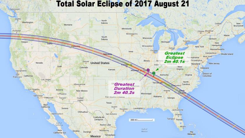 Solar Eclipse 21 August 2017 Astrology Effects on USA