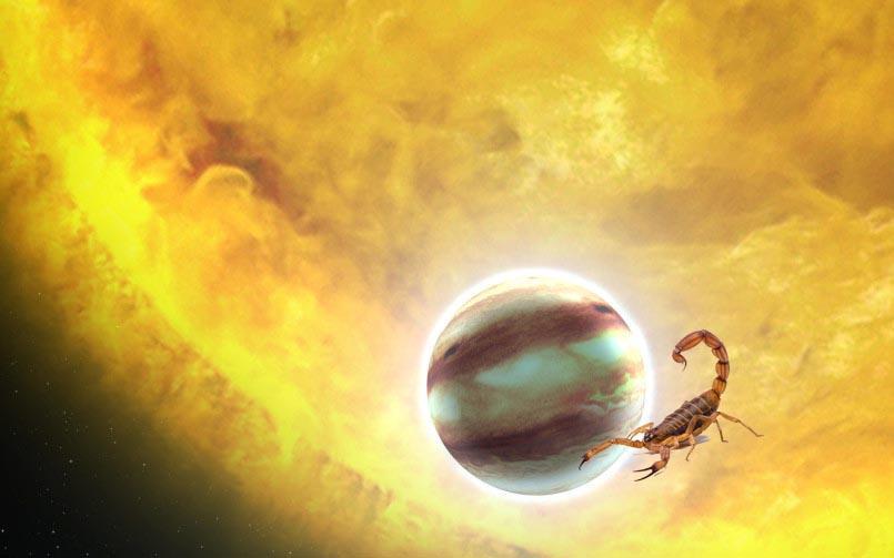 Jupiter Combust in Scorpio 2018
