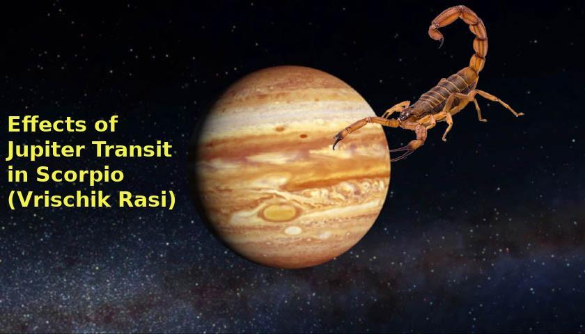 Jupiter Scorpio 2018 vedic astrology