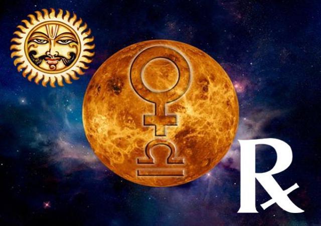 Venus Retrograde Combust Libra 2018