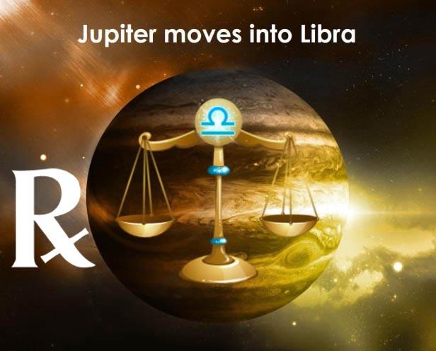 Jupiter Retrograde in Libra