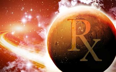 Mars Retrograde Stationary