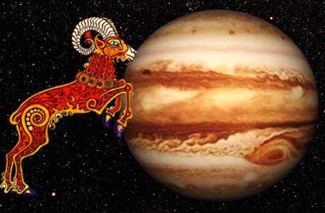Jupiter transit in Aries