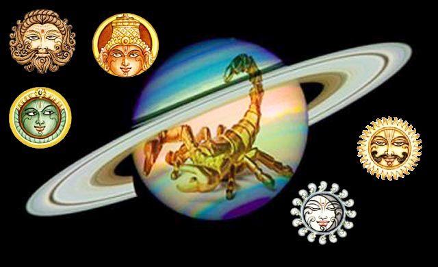 Sun Mercury Mars Venus Saturn influence Taurus Scorpio May-June 2015