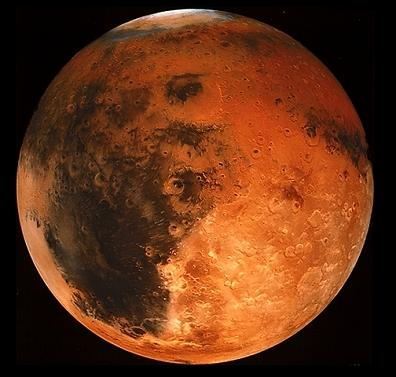 mars closest to earth 2010